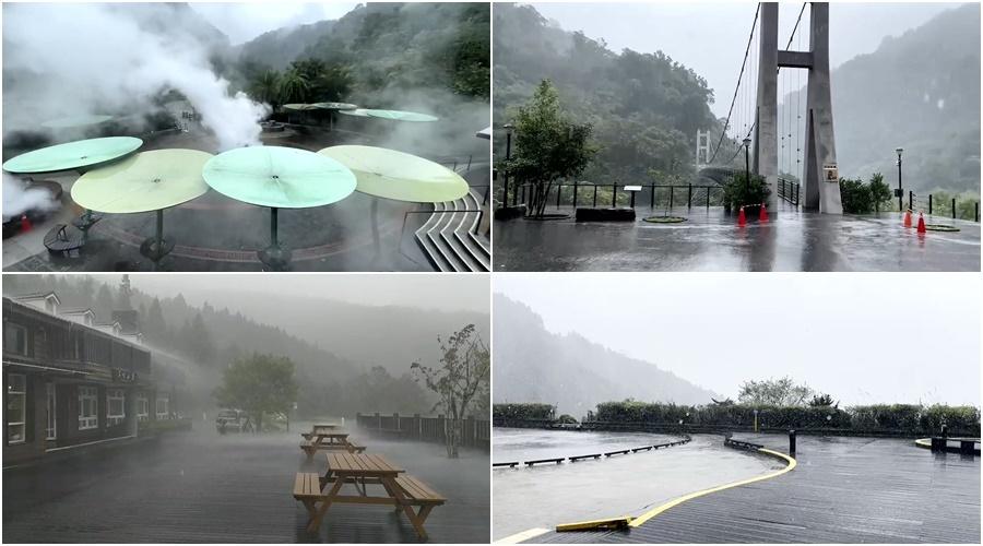 受圓規颱風影響 太平山10/12起休園