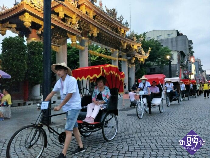 2020大龍峒狀元文化節滿滿懷舊氛圍 體驗老物市集古早味 搭乘三輪車穿越古今