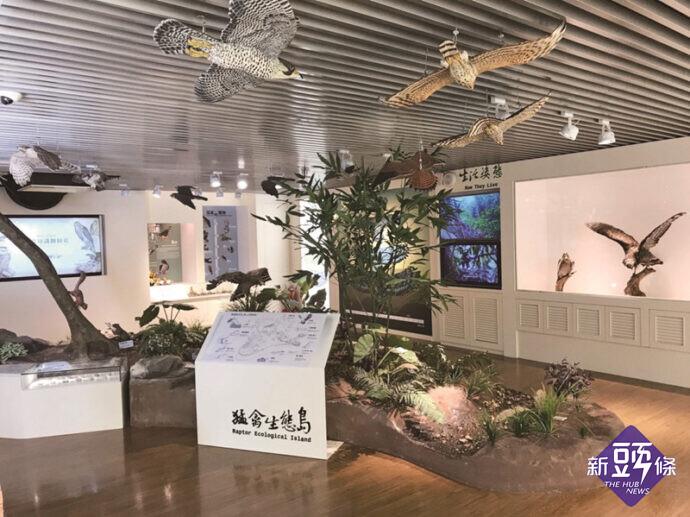 觀音山慶中秋 聞柚香逛市集 猛禽館重磅開幕