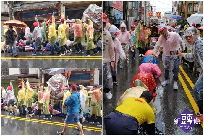 2020蘭陽媽祖文化節起駕遶境 信眾雨中隨行熱情不減