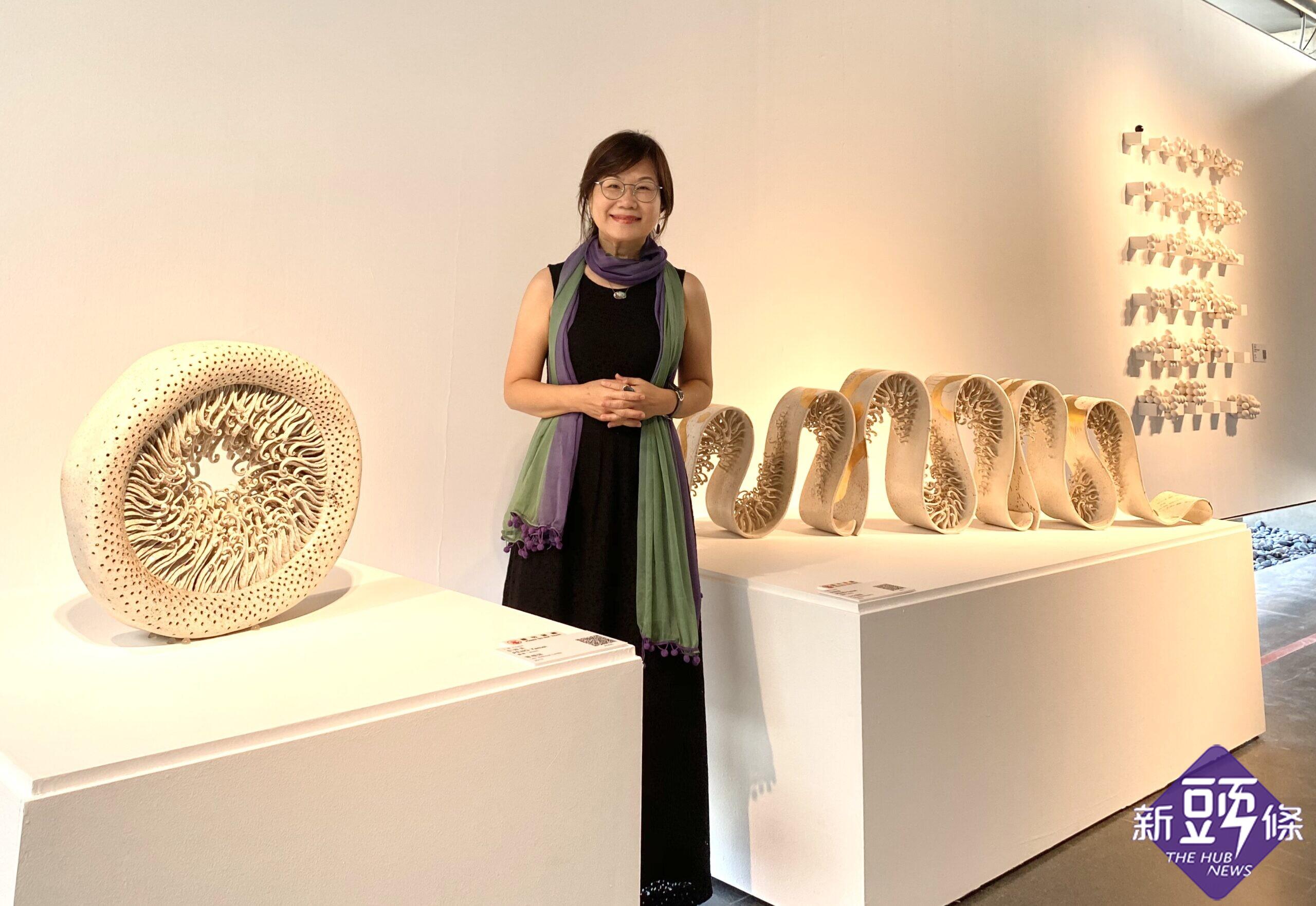 2020台灣國際陶藝雙年展 陶藝家彭雅美唯一入選兩件