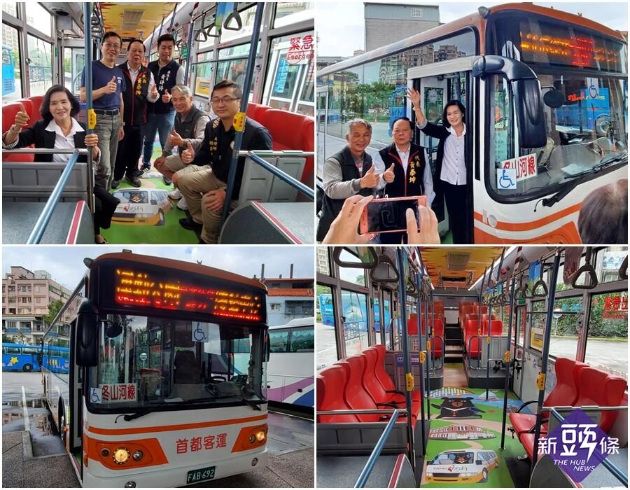 給遊客舒適美感的乘車空間 台灣好行專車換裝上路
