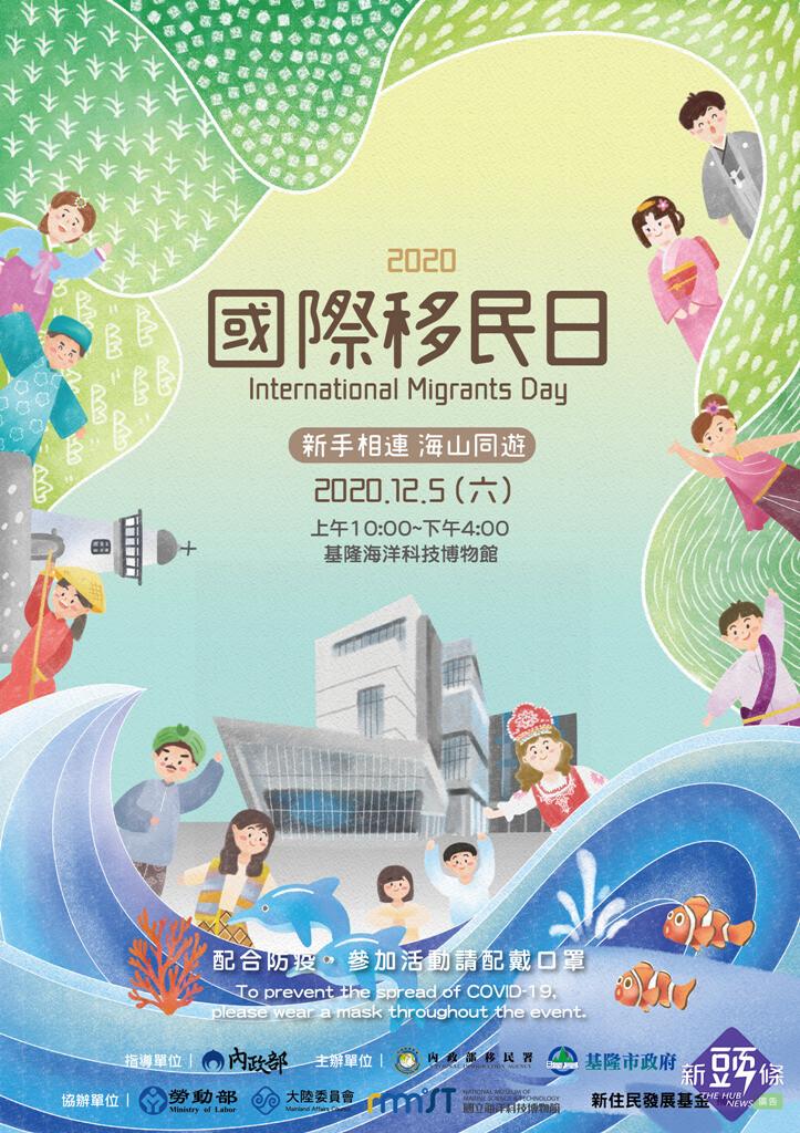 2020國際移民日 海科館免費一日遊熱鬧展開