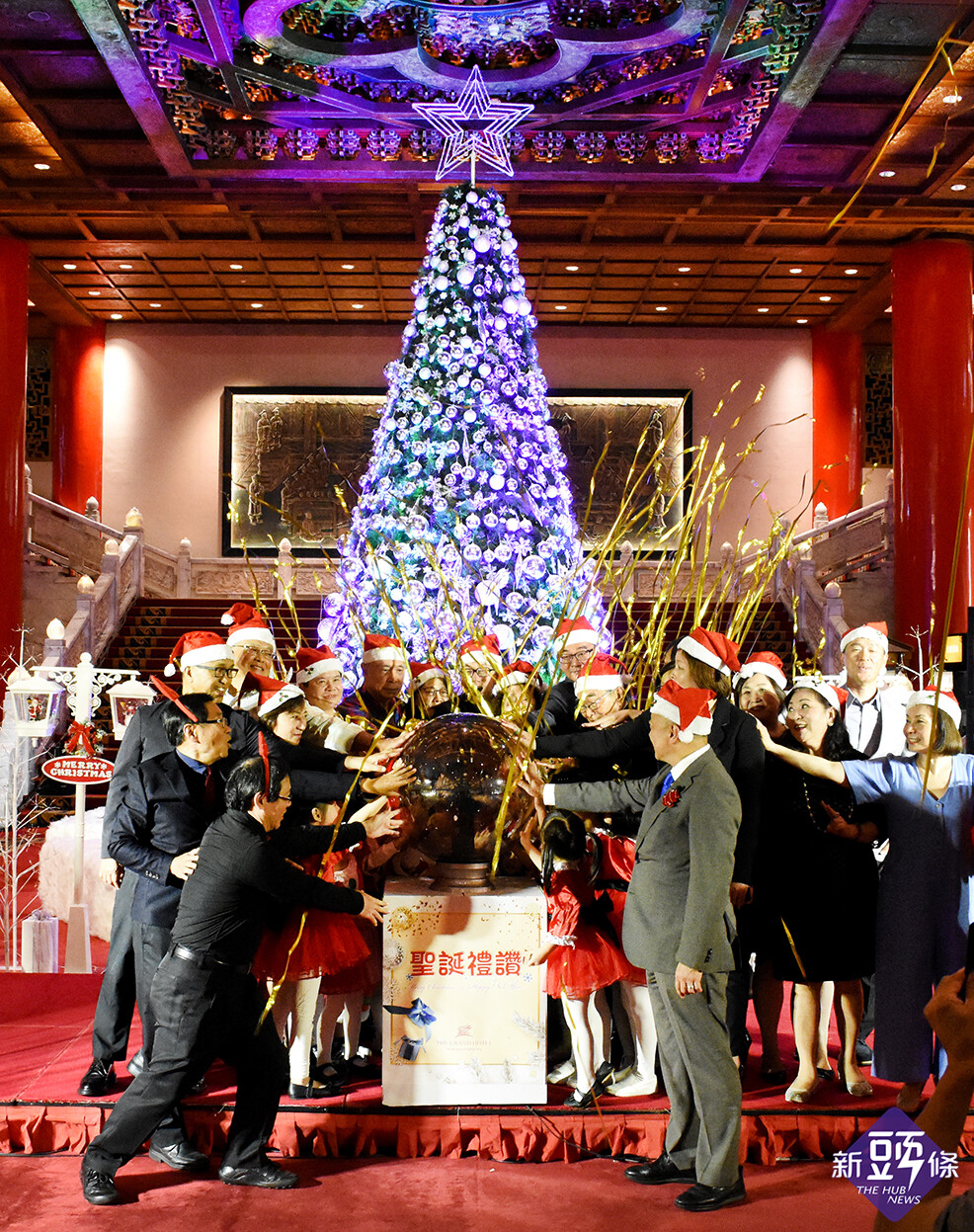 圓山聖誕點燈 熱鬧音樂季現正展開