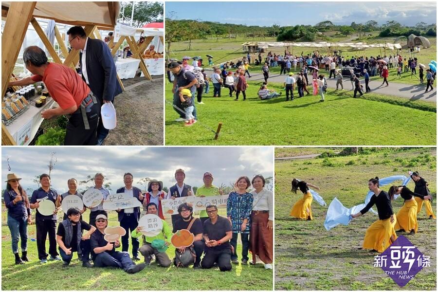 國內外藝術團隊大展創意 2020壯圍沙丘地景藝術節盛大登場