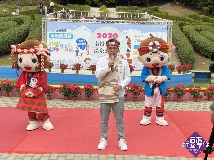北港溪溫泉觀光發展協會李浩瑋理事長