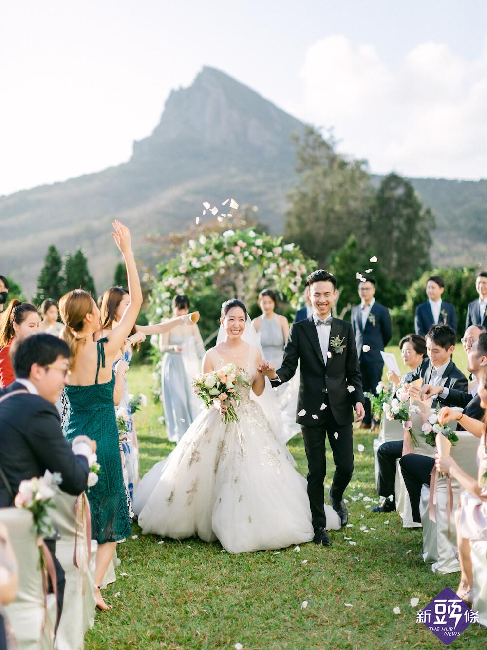 山海為證世界級國家公園森林秘境 華泰瑞苑戶外婚禮首選飯店
