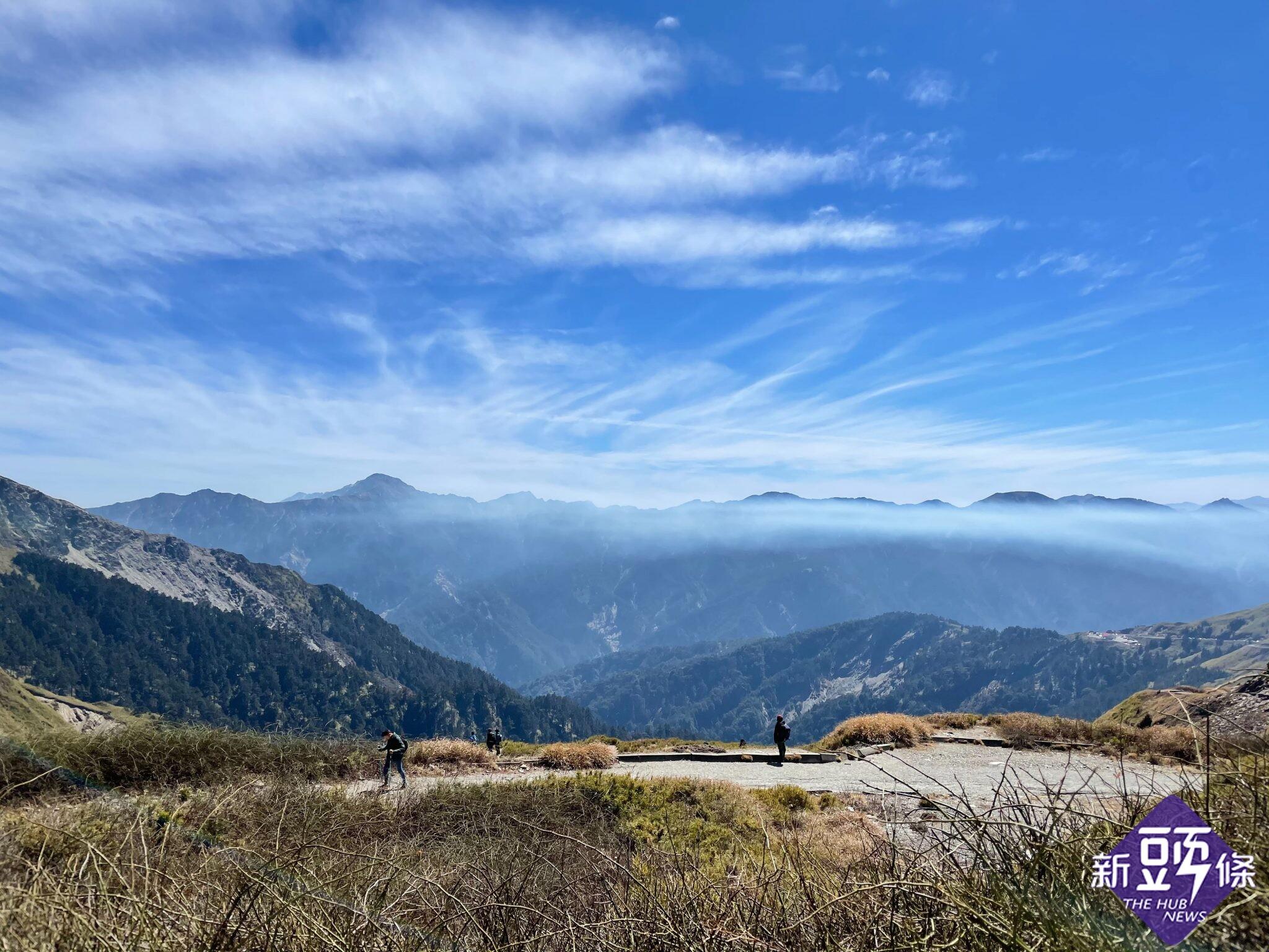 走.遊百岳紀錄(下) 一日四峰 合歡尖山、石門山、合歡主峰、東峰