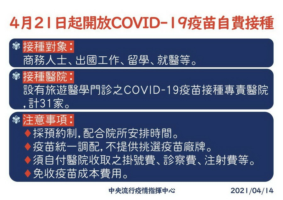 COVID-19國際疫情嚴峻 衛生局籲符接種者踴躍施打疫苗